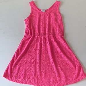 Children Place Girl knitted dress size size L